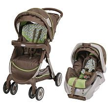"""Graco FastAction Fold Travel System Stroller with SnugRide - Providence - Graco - Babies """"R"""" Us -- Love the colors."""