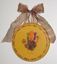 2paws Designs: Handprint Turkey