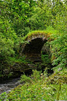 Packhorse Bridge, Glenlivet, Moray, Scotland