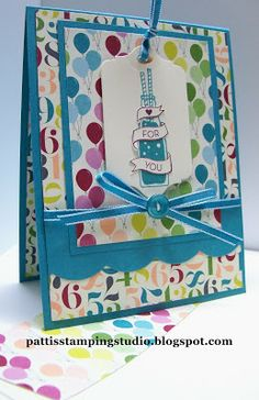 stamp studio, cycle celebration stampin up, cycl celebr, card crazi, birthday card, 20132014, birthday basic, celebr card, mit stampin