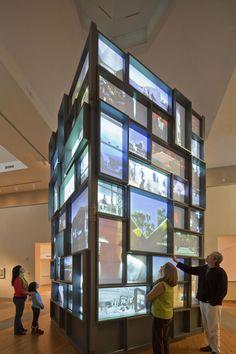 'Voices of Design: 25 Years of Architalx' Exhibition by Ralph Appelbaum Associates exhibit design