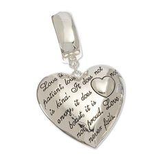 Heart Scarf Jewelry With Verse | Heart Scarf Jewelry, Scarf Pendant | Purple Box Jewelry