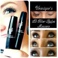 3d fiber lashes, youniqu product, pretti awesom, 3d lash