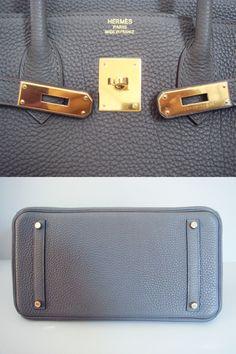 Hermes Etain Birkin 35 Gold Hardware New Authentic