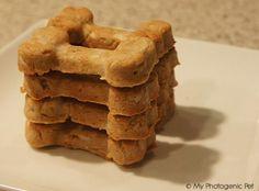 Homemade Peanut Dog Treats Cookie Biscuit Recipe