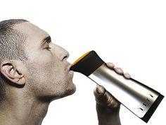 Puri Water Bottle Makes Potable Drinking Water at Sea