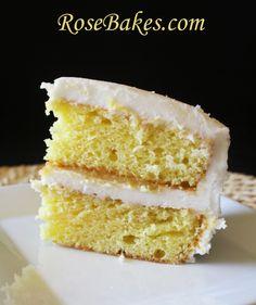 Lemon Icebox Cake with Lemon Curd & Cream Cheese Frosting~love lemon!