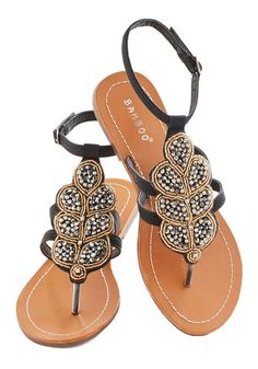 Outta Anthracite Sandal