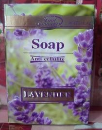 ANTICELLULITE LAVENDER SOAP WITH CAFFEINE VEGETABLE OIL $12.99