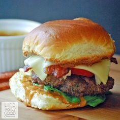 BBQ Ranch Bacon Cheeseburgers