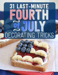 31 Last-Minute Fourth Of July Entertaining Hacks