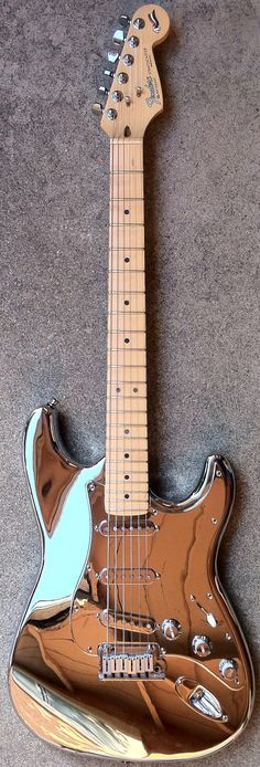 Beautiful! fender stratocast, chrome plate, nashvill beauti, news, string, nashville, electric guitars