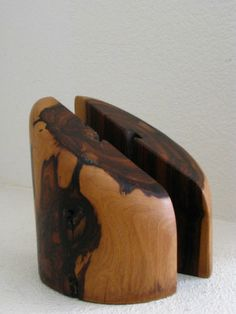 Don Shoemaker Señal Cocobolo Bookends Mid Century Modern Decorative Eames | eBay