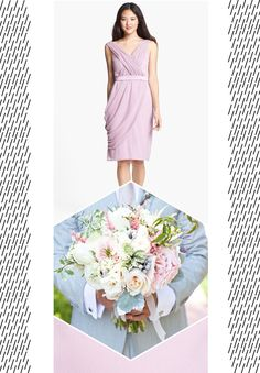 Match your dress with your bouquet with  The Wedding Suite at Nordstrom repined by Marco Island Florist #marcoisland #destinationwedding