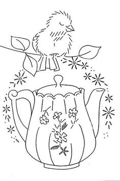 bird and pitcher