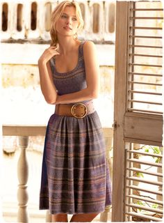 Juliaca Pima Cotton Tank Dress.
