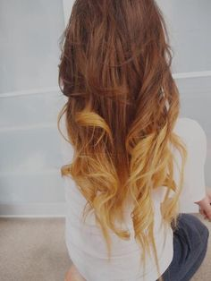 dark blonde, blonde ombre