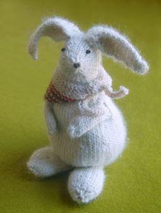 Knit Bunny Pattern, #knit, #bunny, #pattern, #yarn