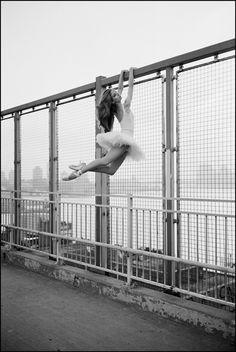Violeta - Williamsburg Bridge  Become a fan of theBallerina Projecton Facebook.  Check out the newBallerina Project blog.