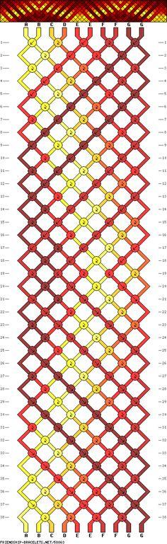 bracelet pattern - how to make a bracelet pattern