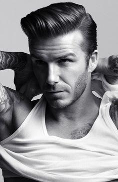 David Beckham: Hair