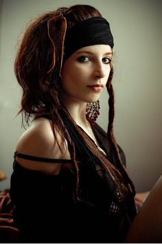 Pirate Hair, dreds