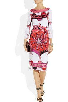 Pucci printed jersey dress