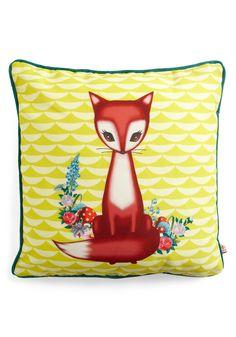 Fox pillow $40