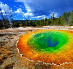 Morning Glory Pool - Yellowstone Park