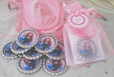 Brave birthday party favor necklaces