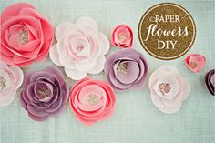 paper flowers diy - if i ever need it
