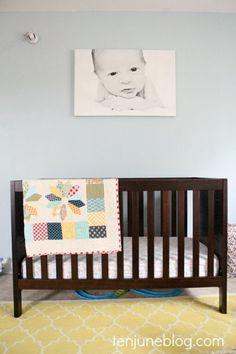 2 kids under 2: how to decorate 2 nurseries cheaply | #BabyCenterBlog