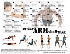 30 day arm workout, exercise routines for arms, 30 day workout challenge arms, workout routine for arms, arm workout 30 day, workout challenge 30 day arms, 30 day challenges fitness, arm challenges, 30 day challenge workout arm