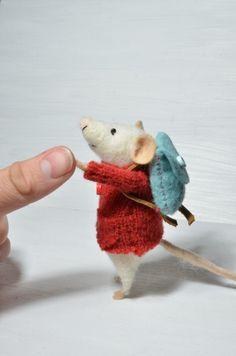 cute little felt mice