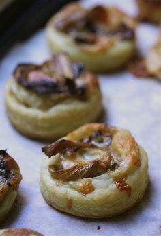 Treat yourself to some Roasted Fennel & Asiago Tartlettes #food #recipe #tartlettes #appetizers