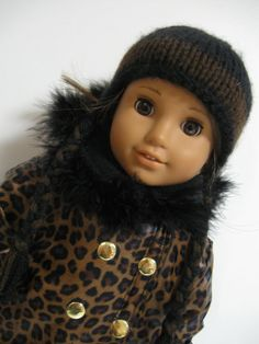American Girl Doll  Its Cold Outside Wild by 123MULBERRYSTREET, $33.00