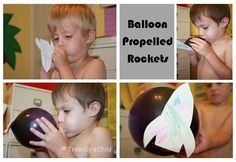 Balloon Propelled Rockets