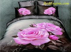 #bedding #3dbeddingsets #rose #cotton 100% Cotton Lifelike Big Pink Roses Print 4 Piece Bedding Sets Buy link--> http://goo.gl/ekPeQZ Discover more--> http://goo.gl/k2AWrk Live a better life, start with @beddinginn