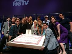 Happy 20th birthday to @HGTV! You know what they say about big cakes... a big party =)  #SNIupfront