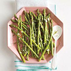 Asparagus with Dill Vinaigrette | CookingLight.com