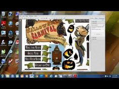 WORKING WITH COLLAGE SHEETS THAT ARE IN A PDF FORMAT - YouTube