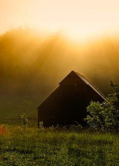 Barn in the Great Smoky Mountains