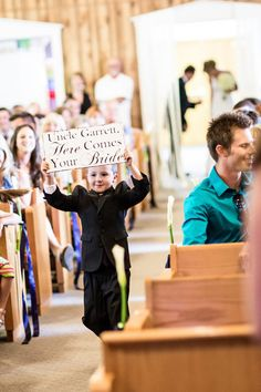 Wedding Signs Uncle Here comes your Bride by 2chicsthatbelieve, Etsy.com
