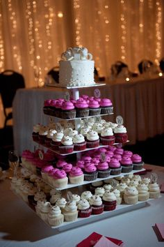 cupcak tower, cupcake towers