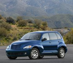 Pt Cruiser... We have a 2003 touring edition in blue