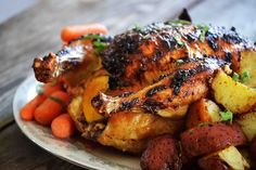 Mayonnaise Roasted Chicken @bakeaholicmama