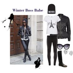 Winter boss babe