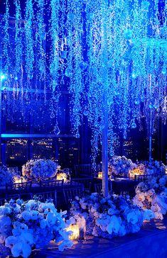 Winter Wonderland Reception II: Centerpieces | Inspirations by Preston Bailey