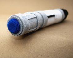 david tennant sonic screwdriver. handmade doctor who toy.