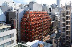 Organic Building | Osaka, Japan | Gaetano Pesce